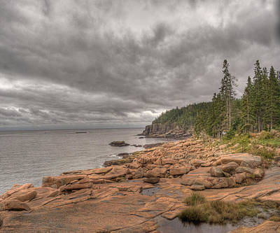 Photograph - Maine Coastline. Acadia National Park by Juli Scalzi