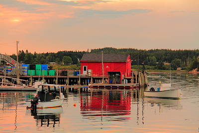 Photograph - Maine Island Life by Doug Mills