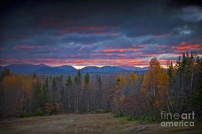 Art Print featuring the photograph Moosehead Sunset by Alana Ranney