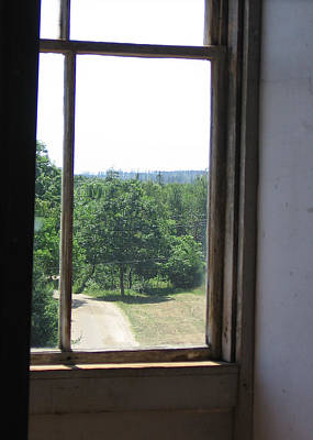 Photograph - Maine Window II by J R Baldini M Photog Cr