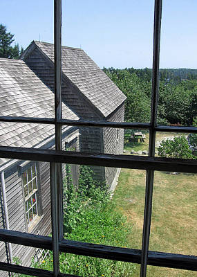 Photograph - Maine Window by J R Baldini M Photog Cr