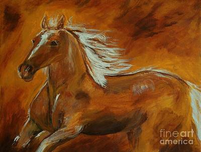 Painting - Majestic Freedom II by Leslie Allen