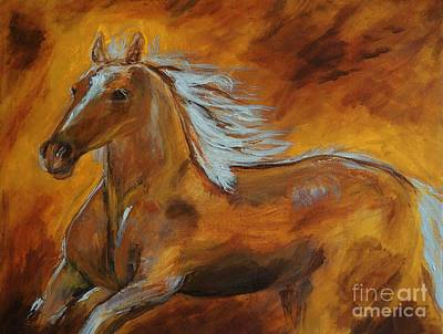 Painting - Majestic Freedom IIi by Leslie Allen