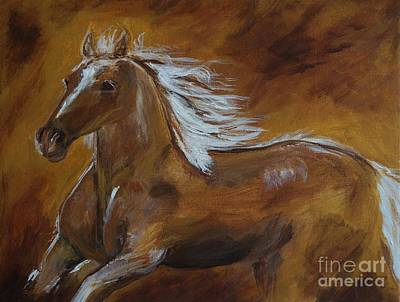 Painting - Majestic Freedom by Leslie Allen