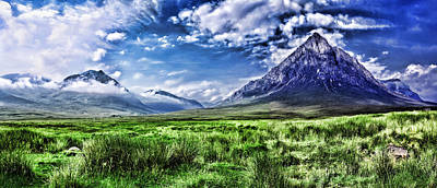Majestic Highlands Art Print by Wendy White