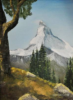 Photograph - Majestic Mountain by John Black