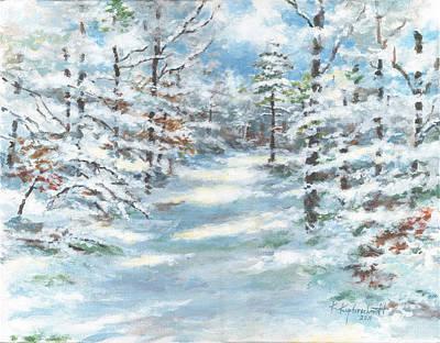 Painting - Majestic Winter by Kerry Kupferschmidt