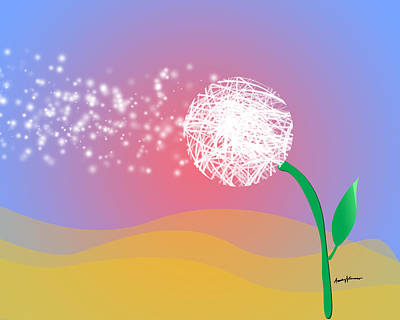 Caruso Digital Art - Make A Wish by Anthony Caruso