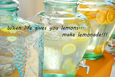 Photograph - Make Lemonade by Lynn Bauer