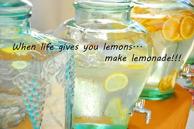 Photograph - Make Lemonade by Lynn Bauer