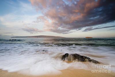 Makena Beach Sunrise Hawaii 2 Art Print by Dustin K Ryan