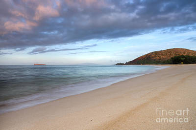 Makena Beach Sunrise Hawaii Art Print by Dustin K Ryan