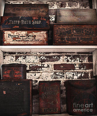 Spice Box Photograph - Makes Wash Day A Picnic by Colleen Kammerer