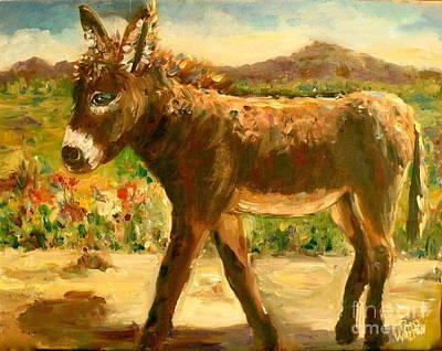 Painting - Makin' A Break by Patsy Walton