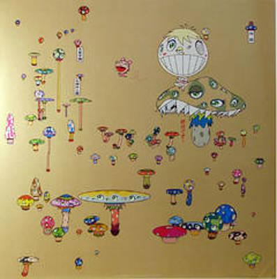 Murakami Digital Art - Making A U Turn by Takashi Murakami