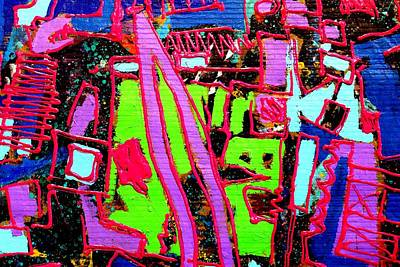 Abstract Expressionism Painting - Making Visible The Invisible by John  Nolan