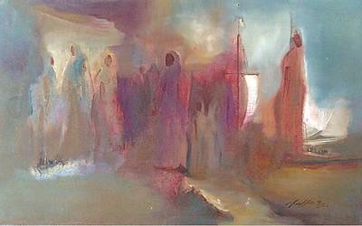 Painting - Malabar by Jaffo Jaffer
