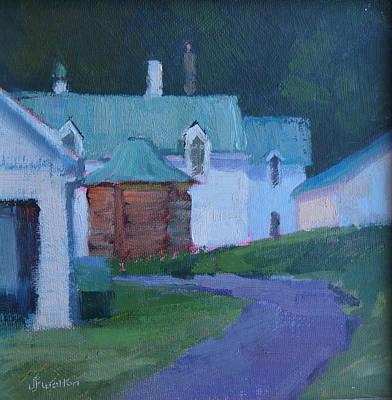 Painting - Malabar Morn by Judy Fischer Walton