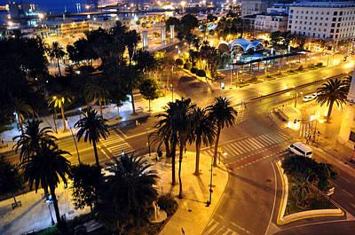 Photograph - Malaga At 2am by Allan Rothman