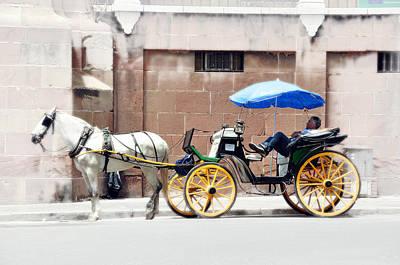 Photograph - Malaga Spain Carriage by Allan Rothman