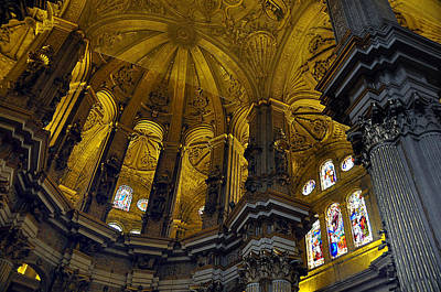 Photograph - Malaga Spain Cathedral 2 by Allan Rothman