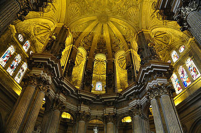 Photograph - Malaga Spain Cathedral by Allan Rothman