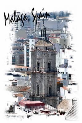 Photograph - Malaga Spain Church 1 by Allan Rothman