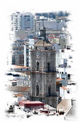 Photograph - Malaga Spain Church 3 by Allan Rothman