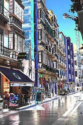 Photograph - Malaga Spain Cityscape 1 by Allan Rothman