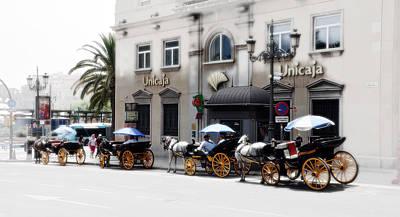 Photograph - Malaga Spain Cityscape by Allan Rothman