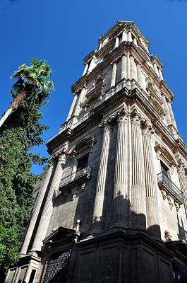 Photograph - Malaga Spain Cornerstone by Allan Rothman