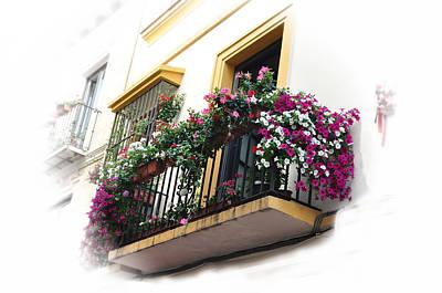 Photograph - Malaga Spain Grand Balcony  by Allan Rothman