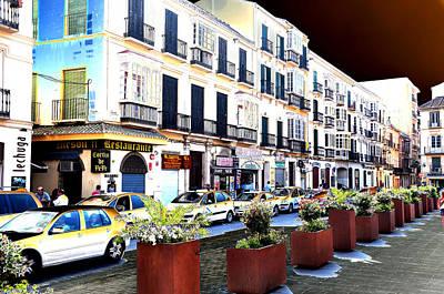 Photograph - Malaga Spain Street 1 by Allan Rothman