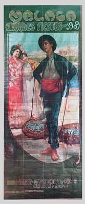 Photograph - Malaga Spain Tiles 3 by Allan Rothman