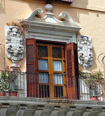 Photograph - Malaga Spain Widow by Allan Rothman