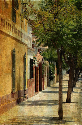 Photograph - Malaga Street. Spain by Jenny Rainbow