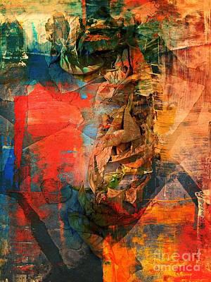 Faniart Africa America Digital Art - Malaria by Fania Simon