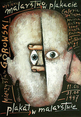 Mixed Media - Malarstwo W Plakacie - Plakat W Malarstwie by Mieczyslaw Gorowski