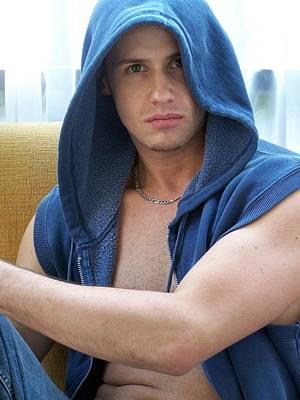 Photograph - Male Fitness Art by Jake Hartz