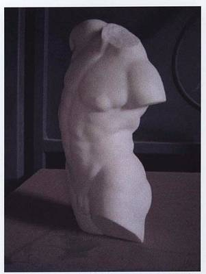 Sculpture - Male Torzo by Memo Memovic