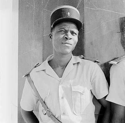 Malian Policeman Print by Evans