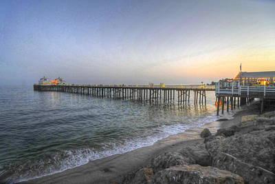 Photograph - Malibu Pier Restaurant by Richard Omura