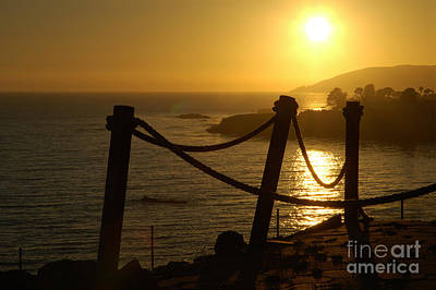 Malibu Sunset Art Print by Micah May