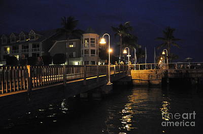 Photograph - Mallory Square Key West Florida by John Black