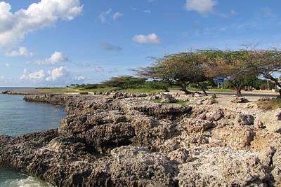 Photograph - Malmok Beach Aruba by Keith Stokes