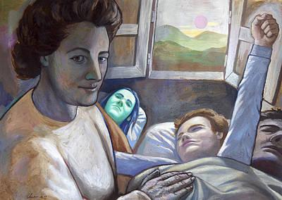 Mama Comes With The Sun Original by Fernando Alvarez