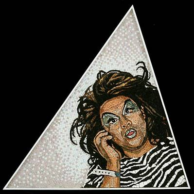Drag Queen Mixed Media - Mamadora by Michael Kruzich