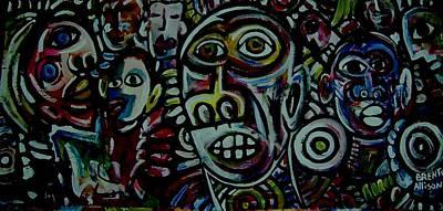 Mambojumbo Art Print by Brent Eric Allison