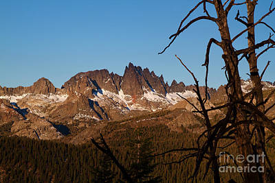 Mammoth Mountain California And Devils Postpile National Monument With Spires Print by ELITE IMAGE photography By Chad McDermott