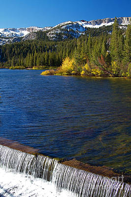 Autumn Photograph - Mammoth Mountain California At Twin Lakes by ELITE IMAGE photography By Chad McDermott